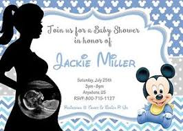 baby mickey baby shower baby mickey mouse baby shower invitations print your own