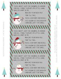 free five snowmen poem and ornament idea stuff