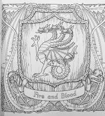 61 game thrones coloring pages adults images