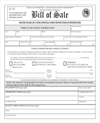 printable vehicle bill of sale standard auto bill of sale expin franklinfire co