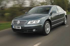 volkswagen phaeton 2005 luxury on the cheap used car buying guide autocar