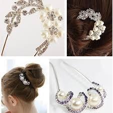 beautiful hair pins new design wedding accessories bridal hairpin faux pearl