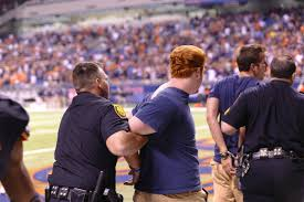 monster truck show san antonio sapd arrests students who stormed the field at the alamodome howe