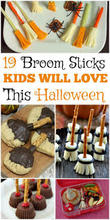 19 broomsticks snacks and recipes kids will love this halloween at