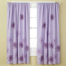 Purple Curtains For Nursery Purple Flower Curtains For My Daughters Room Curtains