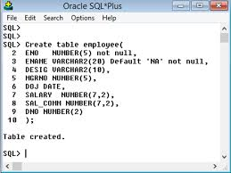 Create Table Oracle Sql Oracle Tutorial Create Table Statement In Oracle