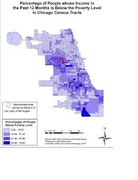 Chicago Neighborhood Crime Map by Mission Of Our Lady Of The Angels