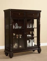 Estate Storage Cabinets Furniture Interesting Curio Cabinets With Glass Door And Simple