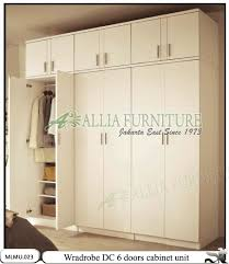 lemari pakaian minimalis cabinet unit dc allia furniture