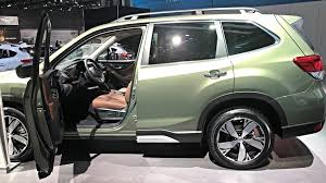 subaru forester 2019 subaru forester has recognition