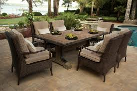 Artificial Wicker Patio Furniture by Woven Wicker U0026 Rattan Furniture Down To Earth Living