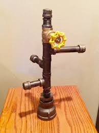 industrial black iron pipe jewelry stand bracelet storage rack