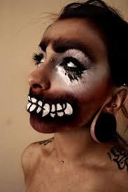 crazy halloween makeup ideas 42