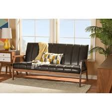 Mid Century Modern Leather Sofa Mid Century Modern Sofas Couches For Less Overstock