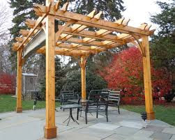 Retractable Shade Pergola by Pergola Kit 10x12 With Retractable Canopy Traditional Patio