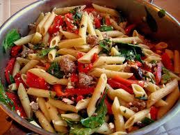 italian sausage peppers onions pasta recipes food pasta recipes
