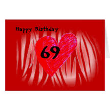 69th birthday card 69th birthday cards invitations zazzle au