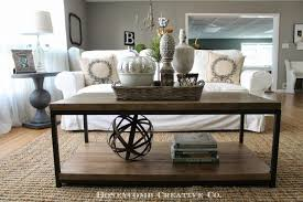 Decorating Sofa Table Behind Couch by Living Room Unique Sofa Table Decorating Ideas Pictures 18 With