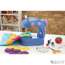 alex toys sew beginner sewing machine with rainbow dot pillow kit
