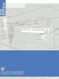 academic guidebook ft ui english version mechanical engineering