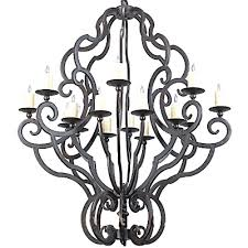 mexican wrought iron lighting c173 ch058 1 by arte de mexico iron lighting collection black rust