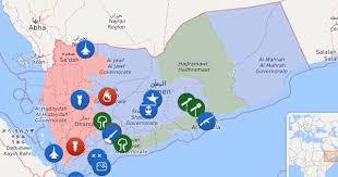 where is yemen on the map map of yemen yemen liveuamap com