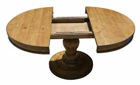 rustic round pedestal dining table rustic round dining room table