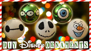 easy affordable diy disney ornaments bowsbycarolyn