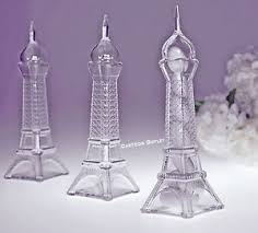 eiffel tower favors 12 pc fillable eiffel tower wedding favors quinceanera recuerdos