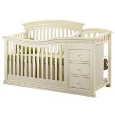 Changing Table Crib Crib With Changing Table Attached Home Inspiration