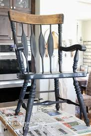 iron dining room chairs black dining room chairs makeover the wood grain cottage