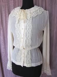vintage blouse vintage blouse george yazbek vintage 70s prairie blouse in the