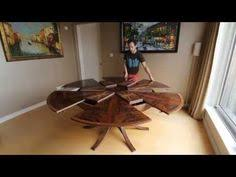 Expanding Tables Expanding Dining Table The Ingenious Robert Jupe Table Mechanism