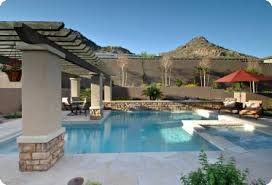 Backyard Pool Designs by Buying A Pool In Phoenix Az Mesa Custom Pool Builder