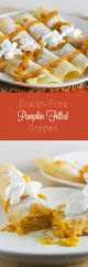 pumpkin filled crepes recipe glutenfree crepes and gluten free