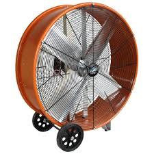 30 Industrial Pedestal Fan Maxxair 30 In Industrial Heavy Duty 2 Speed Pro Drum Fan