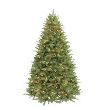 artificial christmas tree with lights puleo 7 5 ft pre lit douglas fir premier incandescent light