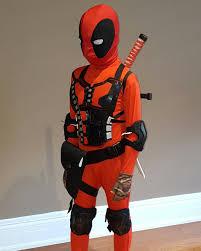 Deadpool Halloween Costume Deadpool Kids Costume Diy Skin Rolerblade Gear Knees