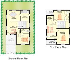 west facing duplex house plans modern 3d with pooja room plot soiaya