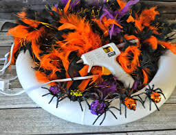 How To Make Halloween Wreaths by Building Our Story September 2014