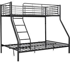 Bunk Bed Metal Frame Buy Home Lucas Metal Bunk Bed Frame Black At Argos Co Uk