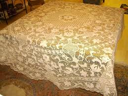 What Size Tablecloth For 60 Inch Round Table Lace Tablecloths 120 Round Starrkingschool