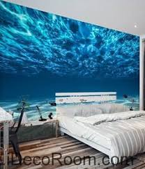 paradise ocean sea beach custom mural wallpaper with free shipping