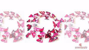 Butterfly Wall Decals For Nursery by Butterfly Wall Decals For Kids Rooms Butterfly Wall Decor