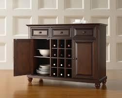 Oak Wine Cabinet Sale Round Wine Bar Furniture Popular Style Wine Storage Furniture
