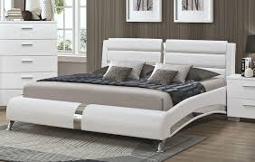 Platform Bed White Beautiful Modern Platform Bed Southbaynorton Interior Home