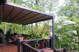Pergola Awning Retractable by Pergola Awning Is Best For Sun Wind U0026 Rain Milanese Remodeling