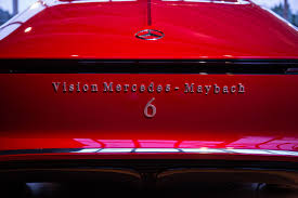 vision mercedes maybach 6 concept unveiled at pebble beach