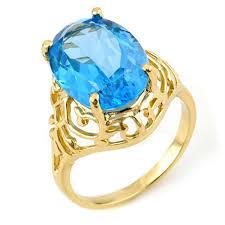 gold topaz rings images Genuine 8 0 ctw blue topaz ring 10k yellow gold jpg