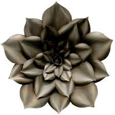Metal Flower Wall Decor - metal flower decor techieblogie info